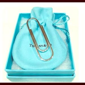 AUTHENTIC Tiffany & Co. .825 Paperclip-Bookmark.